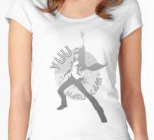 Persona 4 Dancing All Night - Yuu Narukami Women's Fitted Scoop T-Shirt