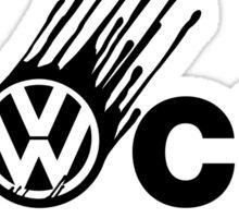 VW Humor, Dieselgate. Sticker