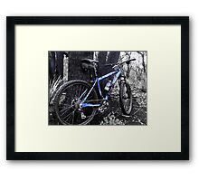 Forest Ride Framed Print