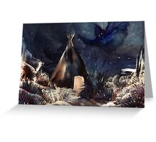 ~Guardian of the Black Hills~ Greeting Card