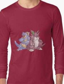Beech Collection - Nidoking and Nidoqueen Long Sleeve T-Shirt
