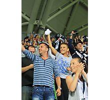 Victorious Sports Fans Photographic Print