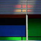 colours and shapes of the city 1 by Georgie Hart
