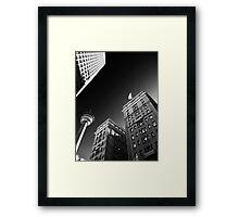 The City of Calgary Framed Print