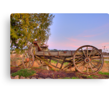 Still Here After All These Years Canvas Print