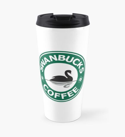 Swanbucks Coffee Travel Mug