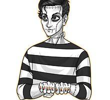 Frankenstein Iero by poweredbyc0ke