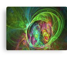 Face of energy Canvas Print