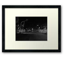 x-ing Framed Print