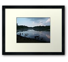Reflection... Framed Print