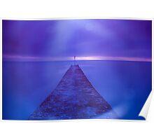 Dawlish Pier Dreamy Poster