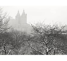 Snow Globe - Winter - Central Park - New York City Photographic Print