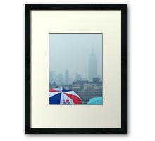 I Love NY... Framed Print