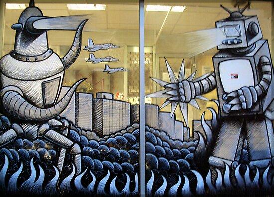 Robot Wars by biddumy