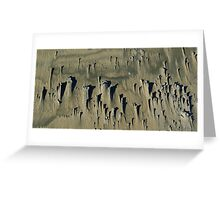 washed out..... Greeting Card