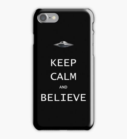Keep Calm and Believe iPhone Case/Skin