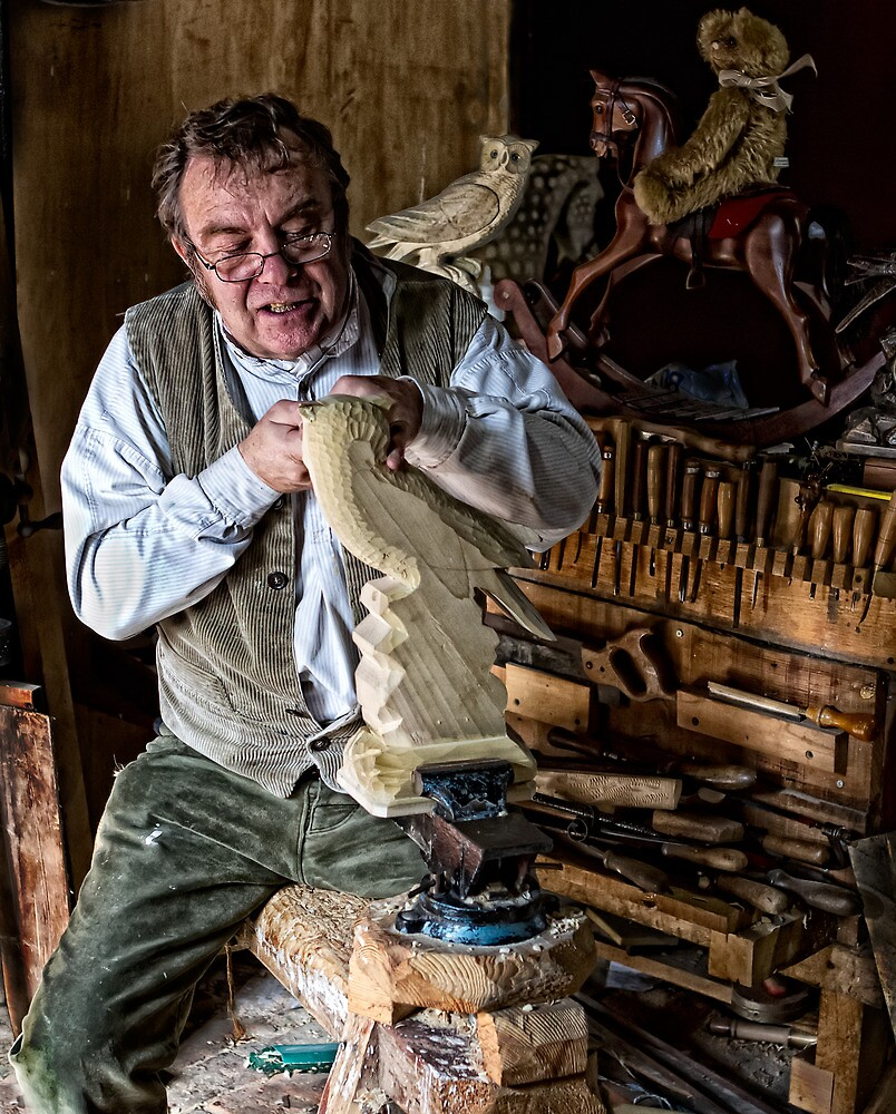 Wood Worker by Dave Tucker