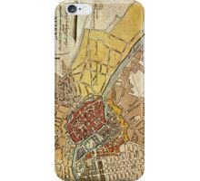 Map of Berlin iPhone Case/Skin