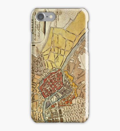 Map of Berlin iPhone Case/Skin