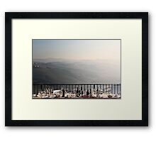 another lunch done in piemonte... Framed Print