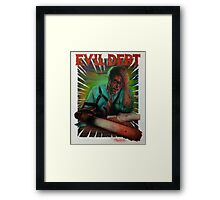 Evil Debt  Framed Print