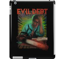 Evil Debt  iPad Case/Skin