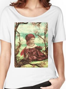 High in the Tree Top Women's Relaxed Fit T-Shirt