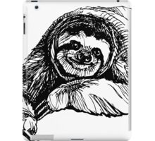 Happy sloth iPad Case/Skin