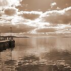 Waiting for the ferry, Moaness, Hoy by ScotLandscapes