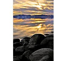 Lake Tahoe Nevada side Photographic Print
