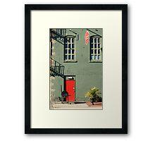 Platt Street Number 104 Framed Print