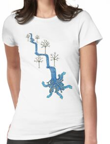 Neptune's River Womens Fitted T-Shirt