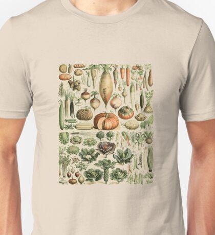 Autumn Fall Vegetables Vegetarian Vegan Thanksgiving Dictionary Organic Art Vintage Cottage Chic Unisex T-Shirt