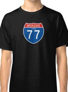 Interstate Sign 77 Ohio, USA Classic T-Shirt
