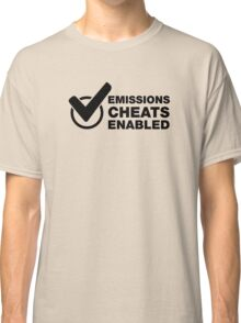 Emissions cheat enabled. Funny VW Classic T-Shirt
