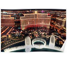 The Bellagio Fountains Poster