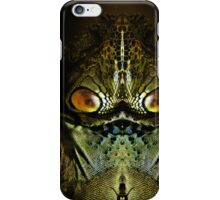 Zillon from the Planet Tharg iPhone Case/Skin