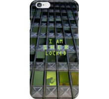 S H E R locked iPhone Case/Skin
