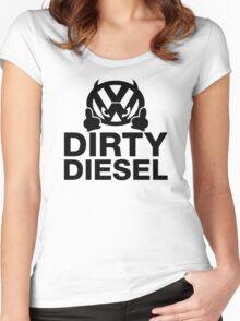 Dirty Diesel, VW Humor Women's Fitted Scoop T-Shirt