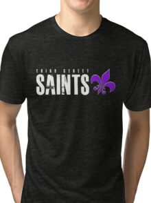 Third Street Saints Tri-blend T-Shirt