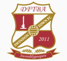 The Swindon Town Swoodilypoopers by totesmyalpaca