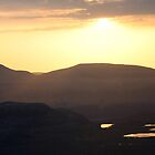Sunset over Cranstackie & Beinn Spionnaidh by ScotLandscapes