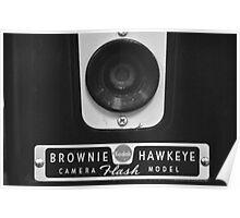 Kodak Brownie Hawkeye Face Poster