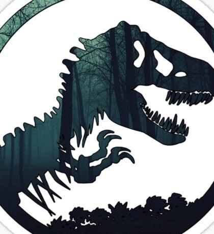 Jurassic Forest Sticker