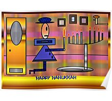 PracPak Hanukkah, Last Night Poster