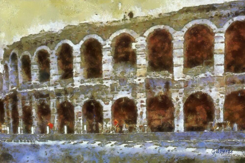 Verona - Arenas by Gilberte