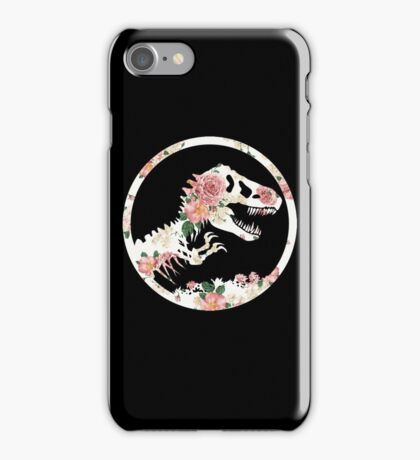 Jurassic Floral iPhone Case/Skin