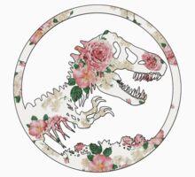 Jurassic Floral Kids Tee