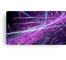 Violet scratch abstract background with bokeh.  Canvas Print