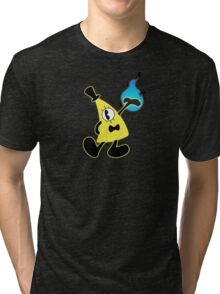 1940's Bill Cipher Tri-blend T-Shirt